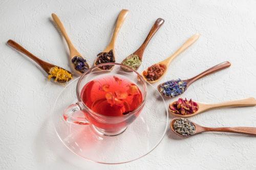 きれいになるハーブティー  Beautiful herb tea